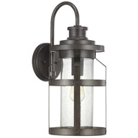 Progress P560096-103 Haslett 1 Light 22 inch Antique Pewter Outdoor Wall Lantern