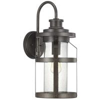 Progress P560096-103 Haslett 1 Light 22 inch Antique Pewter Outdoor Wall Lantern