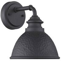 Progress P560097-031 Englewood 1 Light 10 inch Textured Black Outdoor Wall Lantern Small