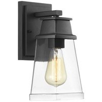 Progress P560099-031 Greene Ridge 1 Light 12 inch Black Outdoor Wall Lantern