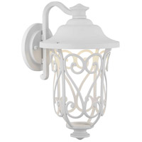 Progress P560104-030-30 Leawood Led LED 14 inch White Outdoor Wall Lantern Design Series