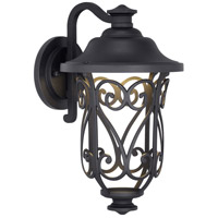 Progress P560104-031-30 Leawood Led LED 14 inch Black Outdoor Wall Lantern Design Series