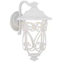 Progress P560105-030-30 Leawood LED LED 17 inch White Outdoor Wall Lantern Medium Design Series