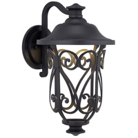 Progress P560105-031-30 Leawood LED LED 17 inch Textured Black Outdoor Wall Lantern Medium Design Series