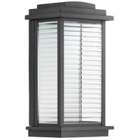 Progress P560108-031-30 Northampton LED LED 13 inch Textured Black Outdoor Wall Lantern Small Design Series