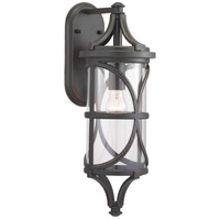 Morrison 1 Light 21 inch Antique Bronze Outdoor Wall Lantern, Design Series
