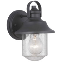 Progress P560119-031 Weldon 1 Light 9 inch Black Outdoor Wall Lantern