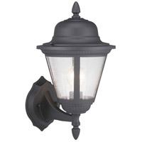 Progress P560134-031 Westport 1 Light 16 inch Black Outdoor Wall Lantern