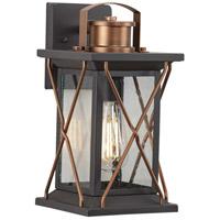 Progress P560156-020 Barlowe 1 Light 13 inch Antique Bronze Outdoor Wall Lantern Small