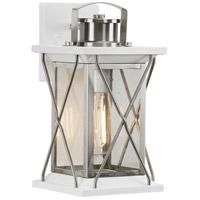 Progress P560156-135 Barlowe 1 Light 13 inch Stainless Steel Outdoor Wall Lantern Small