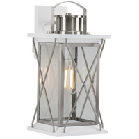 Progress P560157-135 Barlowe 1 Light 16 inch Stainless Steel Outdoor Wall Lantern Medium