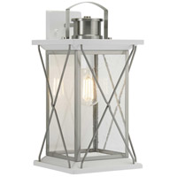 Progress P560158-135 Barlowe 1 Light 19 inch Stainless Steel Outdoor Wall Lantern Large