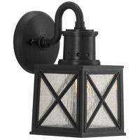 Progress P560163-031 Seagrove 1 Light 11 inch Black Outdoor Wall Lantern Small with Durashield