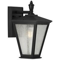 Progress P560166-031 Cardiff 1 Light 13 inch Textured Black Outdoor Wall Lantern, with DURASHIELD, Small