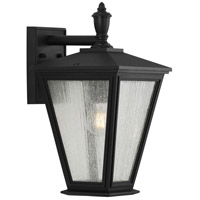 Progress P560167-031 Cardiff 1 Light 17 inch Textured Black Outdoor Wall Lantern, with DURASHIELD, Medium