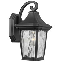 Progress P560171-031 Marquette 1 Light 13 inch Black Outdoor Wall Lantern Small with Durashield