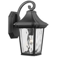 Progress P560173-031 Marquette 1 Light 19 inch Black Outdoor Wall Lantern Large with Durashield