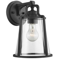 Progress P560178-031 Benton Harbor 1 Light 11 inch Black Outdoor Wall Lantern Medium with Durashield
