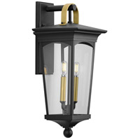 Progress P560183-031 Chatsworth 2 Light 22 inch Black Outdoor Wall Lantern Medium Design Series