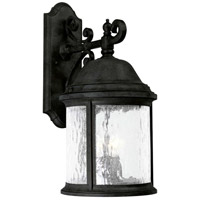 Progress P5651-31 Ashmore 3 Light 21 inch Textured Black Outdoor Wall Lantern photo thumbnail