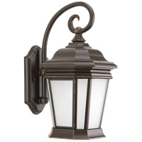 Progress P5686-108MD Crawford 1 Light 17 inch Oil Rubbed Bronze Outdoor Wall Lantern Medium
