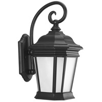 Progress P5686-31MD Crawford 1 Light 17 inch Textured Black Outdoor Wall Lantern, Medium