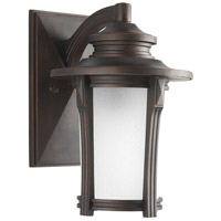 Progress P5981-97MD Pedigree 1 Light 9 inch Autumn Haze Outdoor Wall Lantern Medium