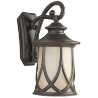 Progress P5989-122 Resort 1 Light 20 inch Aged Copper Outdoor Wall Lantern, Large