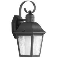 Progress P6619-31CD Andover 1 Light 13 inch Textured Black Outdoor Wall Lantern, Small