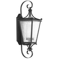 Progress P6627-31MD Cadence 1 Light 25 inch Black Outdoor Wall Lantern Medium Design Series