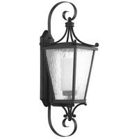 Progress P6628-31MD Cadence 1 Light 31 inch Textured Black Outdoor Wall Lantern Large Design Series