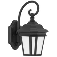 Progress P6630-31MD Crawford 1 Light 13 inch Textured Black Outdoor Wall Lantern Small