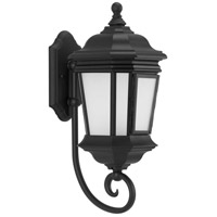 Progress P6631-31MD Crawford 1 Light 21 inch Textured Black Outdoor Wall Lantern Medium