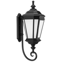 Progress P6632-31MD Crawford 1 Light 29 inch Textured Black Outdoor Wall Lantern Large