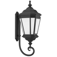Progress P6633-31MD Crawford 1 Light 33 inch Textured Black Outdoor Wall Lantern Large