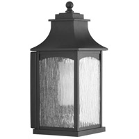 Progress P6635-31CD Maison 1 Light 17 inch Black Outdoor Wall Lantern Medium Design Series