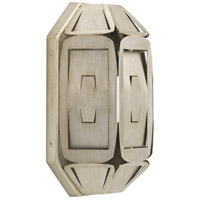 Point Dume Yerba 1 Light 8 inch Silver Ridge ADA Wall Sconce Wall Light, Jeffrey Alan Marks, Design Series
