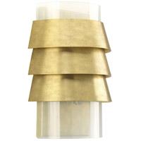 Progress P710068-160 Point Dume Sandbar 1 Light 9 inch Brushed Brass Wall Sconce Wall Light Jeffrey Alan Marks Design Series