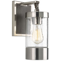 Progress P710069-009 Point Dume Lookout 1 Light 6 inch Brushed Nickel Wall Sconce Wall Light, Jeffrey Alan Marks, Design Series