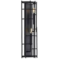 Progress P710077-031 Torres 2 Light 8 inch Textured Black ADA Wall Sconce Wall Light Design Series