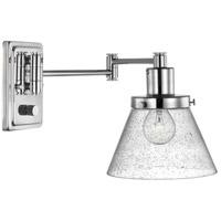 Progress P710084-104 Hinton 12 inch 60 watt Polished Nickel Swing Arm Wall Light