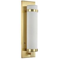 Progress P710088-012 Hartwick 1 Light 5 inch Satin Brass ADA Wall Sconce Wall Light