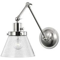 Progress P710094-009 Hinton 18 inch 60 watt Brushed Nickel Swing Arm Wall Light