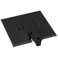 Progress P8745-31 Alpha Trak 120 Black Track End Feed with Flush Canopy Ceiling Light photo thumbnail