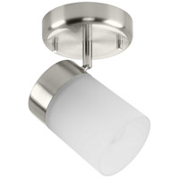 Progress P900011-009 Ridgecrest 1 Light 120V Brushed Nickel Multi-Directional Track Ceiling Light