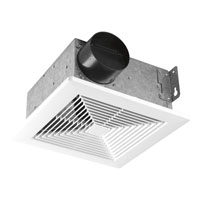 Progress Lighting Signature Bath Fan in Textured White PV001-30