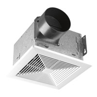 Progress Lighting Signature Bath Fan in Textured White PV002-30