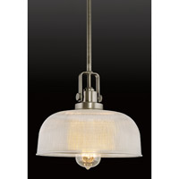 Progress Lighting Archie 1 Light Pendant in Antique Nickel P5026-81 alternative photo thumbnail