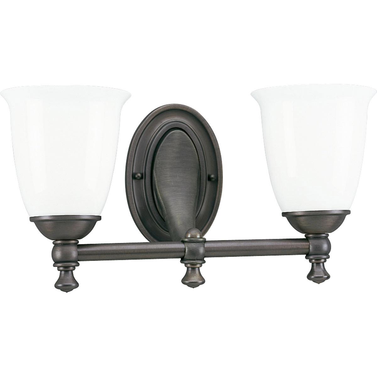 Progress Lighting P3028 74 Victorian Bathroom Vanity Light Venetian Bronze