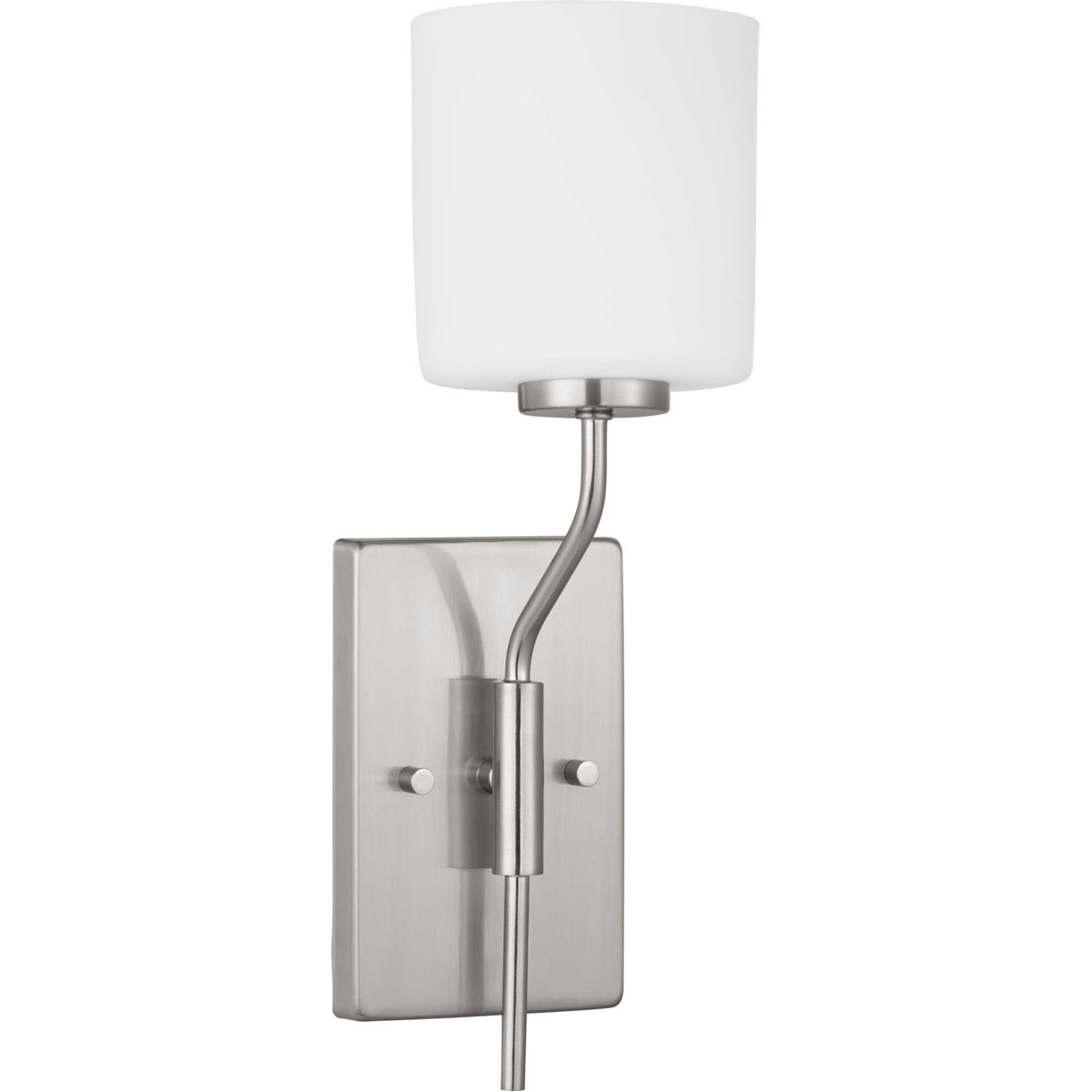 Details About Progress Lighting P300222 009 Tobin Wall Sconce Brushed Nickel